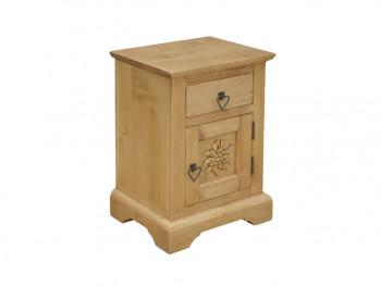 Smrkový noční stolek Jagna 1
