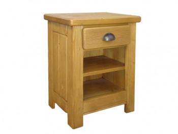 Smrkový noční stolek Vintage