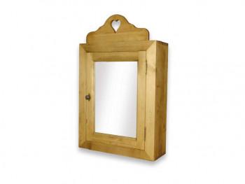 Smrkové zrcadlo se skříňkou Mexicana 3