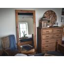Rustikální zrcadlo do předsíně