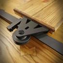 kovový pojezd pro systém posuvných dveří