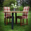 stolek z dubového dřeva
