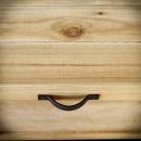 borovicová skříňka pod tv