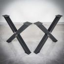 černé kovové podnoží