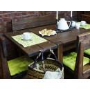 Borovicový nábytek do jídelny