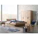 Drewniane masywne łóżka