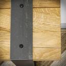 dřevěná konzole