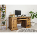 dřevěný psací stůl z masivu