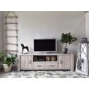 Dřevěná smrková skříňka pod televizor