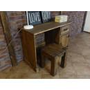 Dřevěný psací stoleček