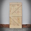 borovicové dveře surové