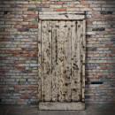 jasanové dveře jedna strana