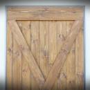 zkřížené dřevěné latě