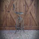 Barová židle Industrial Twarde bok