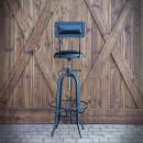 Barová židle Industrial zezadu