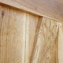 surové dubové dveře
