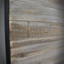 borovicová deska v ocelovém rámu
