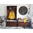 garderoba w stylu rustykalnym
