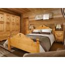 Łóżko z drewna świerkowego Mexicana 2 140x200