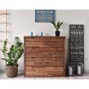 dřevěná komoda z borovice