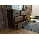 rustykalne meble drewniane