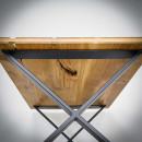 Kovové podnoží k jídelním stolům