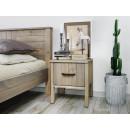 loftový noční stolek