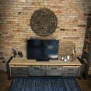 Borovicový TV stolek