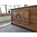 dřevěná postel Jagna