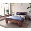Dřevěná borovicová postel
