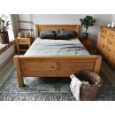 praktyczne drewniane łóżko