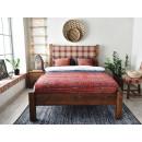 łóżko drewniane 140