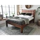 Retro postel z masivní borovice