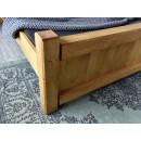 Łóżko drewniane vintage