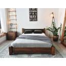 Dřevěná postel 180
