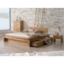 dubová postel Laura