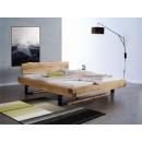 Dubová postel v moderním stylu