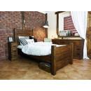Jednolůžková dřevěná postel