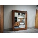 Borovicové zrcadlo do předsíně
