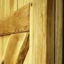 detail světlého dubového dřeva