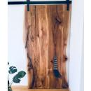 pojízdné dubové dveře
