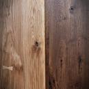 barva dubových dveří