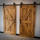 dubové dveře pojízdné