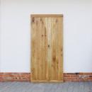 masivní dubové dveře