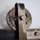 hlava kovového pojezdu