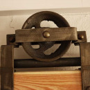 kovový systém posuvných dveří