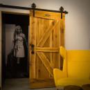 pojídné dubové dveře