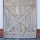 překřížené dřevěné latě