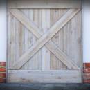 překřížení, detail dveří
