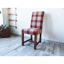 Čalouněná židle z borovicového dřeva